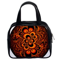 Fractals Ball About Abstract Classic Handbags (2 Sides) by Nexatart