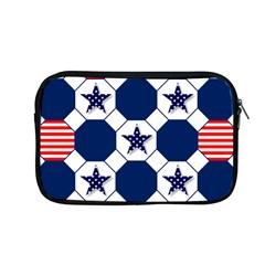 Patriotic Symbolic Red White Blue Apple Macbook Pro 13  Zipper Case by Nexatart