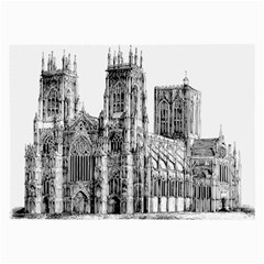 York Cathedral Vector Clipart Large Glasses Cloth by Nexatart