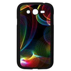 Abstract Rainbow Twirls Samsung Galaxy Grand Duos I9082 Case (black) by Nexatart