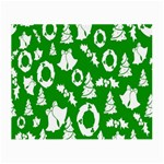 Backdrop Background Card Christmas Small Glasses Cloth (2-Side) Front