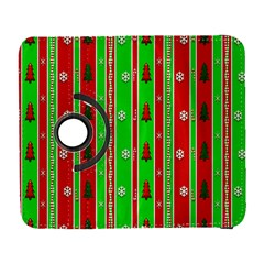 Christmas Paper Pattern Galaxy S3 (flip/folio) by Nexatart