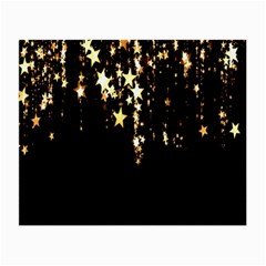 Christmas Star Advent Background Small Glasses Cloth (2 Side) by Nexatart