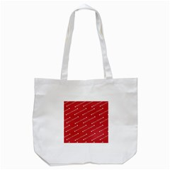 Christmas Paper Background Greeting Tote Bag (white) by Nexatart