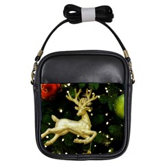 December Christmas Cologne Girls Sling Bags by Nexatart