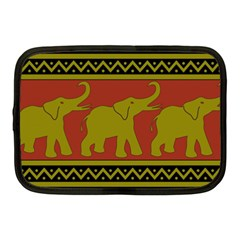 Elephant Pattern Netbook Case (medium)  by Nexatart