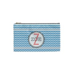 Z for Zoe Cosmetic Bag (Small) by daydreamer