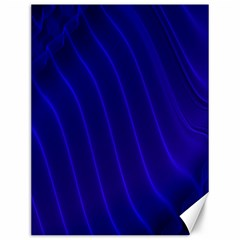 Sparkly Design Blue Wave Abstract Canvas 12  X 16   by Jojostore