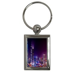 Raised Building Frame Key Chains (rectangle)  by Nexatart