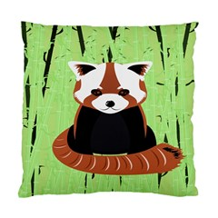 Red Panda Bamboo Firefox Animal Standard Cushion Case (one Side) by Nexatart