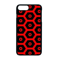 Red Bee Hive Texture Apple Iphone 7 Plus Seamless Case (black) by Nexatart
