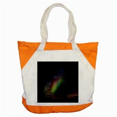 Starry Sky Galaxy Star Milky Way Accent Tote Bag by Nexatart