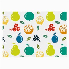 Fruit Lime Large Glasses Cloth (2 Side) by Jojostore