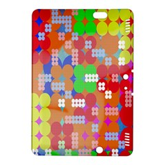 Abstract Polka Dot Pattern Kindle Fire HDX 8.9  Hardshell Case by Nexatart