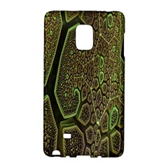 Fractal Complexity 3d Dimensional Galaxy Note Edge by Nexatart