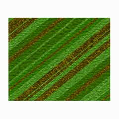 Stripes Course Texture Background Small Glasses Cloth (2 Side) by Nexatart