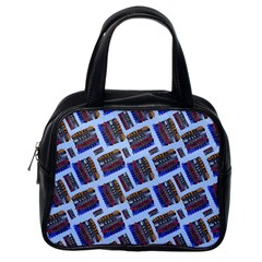 Abstract Pattern Seamless Artwork Classic Handbags (One Side) by Nexatart