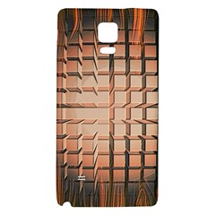 Abstract Texture Background Pattern Galaxy Note 4 Back Case by Nexatart