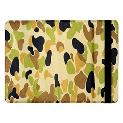 Army Camouflage Pattern Samsung Galaxy Tab Pro 12.2  Flip Case by Nexatart
