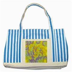 Backdrop Background Abstract Striped Blue Tote Bag by Nexatart
