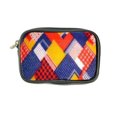 Background Fabric Multicolored Patterns Coin Purse by Nexatart