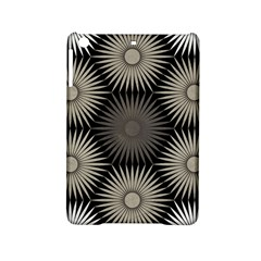 Sunflower Black White Ipad Mini 2 Hardshell Cases