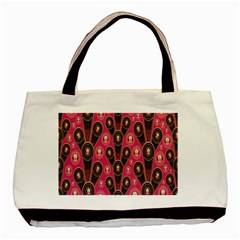 Background Abstract Pattern Basic Tote Bag by Nexatart