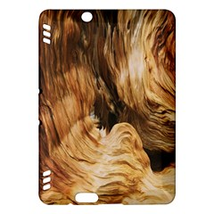 Brown Beige Abstract Painting Kindle Fire Hdx Hardshell Case by Nexatart