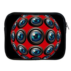 Camera Monitoring Security Apple Ipad 2/3/4 Zipper Cases by Nexatart