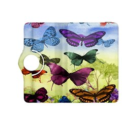 Butterfly Painting Art Graphic Kindle Fire HDX 8.9  Flip 360 Case by Nexatart