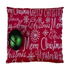 Christmas Decorations Retro Standard Cushion Case (one Side) by Nexatart