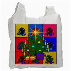 Christmas Ornaments Advent Ball Recycle Bag (one Side) by Nexatart