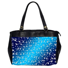 Christmas Star Light Advent Office Handbags (2 Sides)  by Nexatart