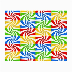 Colorful Abstract Creative Small Glasses Cloth (2 Side) by Nexatart