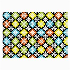 Diamonds Argyle Pattern Large Glasses Cloth (2 Side)
