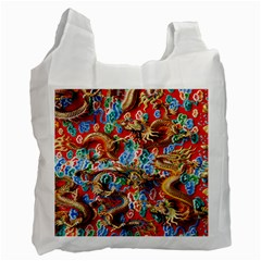 Dragons China Thailand Ornament Recycle Bag (two Side)  by Nexatart