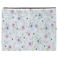 Floral Pattern Background  Cosmetic Bag (xxxl)  by Nexatart