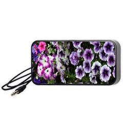 Flowers Blossom Bloom Plant Nature Portable Speaker (Black)