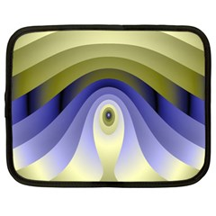 Fractal Eye Fantasy Digital Netbook Case (XXL)  by Nexatart