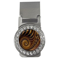 Fractal Spiral Endless Mathematics Money Clips (cz)  by Nexatart