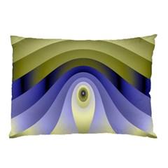 Fractal Eye Fantasy Digital Pillow Case (Two Sides)