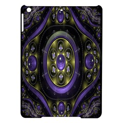 Fractal Sparkling Purple Abstract Ipad Air Hardshell Cases by Nexatart