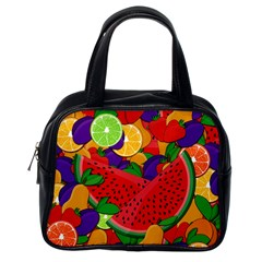 Summer fruits Classic Handbags (One Side) by Valentinaart