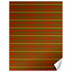 Fugly Christmas Xmas Pattern Canvas 18  X 24   by Nexatart