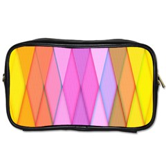 Graphics Colorful Color Wallpaper Toiletries Bags by Nexatart