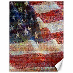 Grunge United State Of Art Flag Canvas 12  X 16   by Nexatart