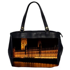 Houses Of Parliament Office Handbags (2 Sides)  by Nexatart