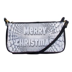 Oints Circle Christmas Merry Shoulder Clutch Bags by Nexatart
