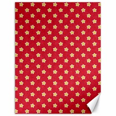 Pattern Felt Background Paper Red Canvas 18  X 24