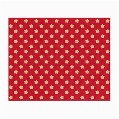 Pattern Felt Background Paper Red Small Glasses Cloth (2 Side) by Nexatart